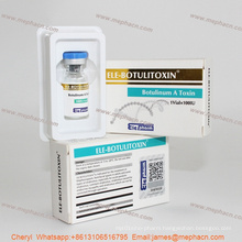 Anti-Wrinkle Botulinum Toxin Type a, Ele Botulinum Toxin for Injectable