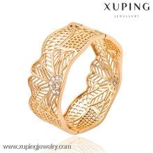 51295 -Xuping jewelry queen crown Brazalete de mujer de moda con oro 18K plateado