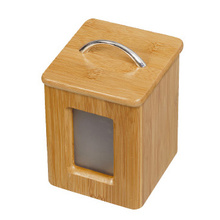 Bamboo Hermetic Sealing Box Wooden Airtight Canister