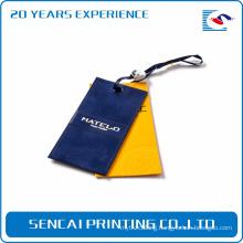 SenCai Custom design fashional paper garment hange tag