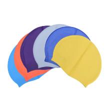 Casquillo de natación de silicona personalizado con logotipo personalizado