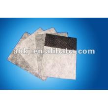 Tissu filtrant d'air de charbon actif