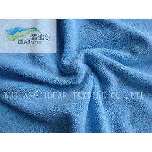 Терри отель Blue полотенце ткань 009