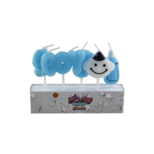Creative Converting Birthday Boy Cake Candle