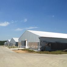 Heißer Gavalnized Prefab Broiler Haus für Moder Bauernhof