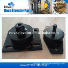 Almofada anti-vibração para o motor, almofada de amortecimento do elevador, peças do elevador