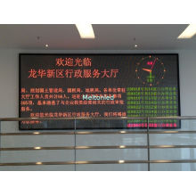 Dual Color Programmable Scrolling Message Led Sign Indoor Long Lifespan