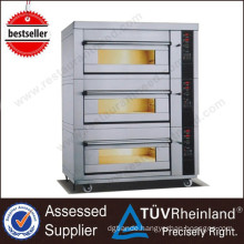 Shinelong Professional Heavy Duty 3-Layer 6-Tray Single Deck Gas Oven