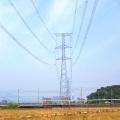 Torre de transmisión de energía de acero angular de 220 kV