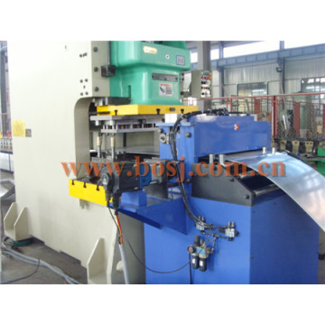 Galvanisé Q235B Gi Solid Slotted Cable Tray Roll Forming Making Machine Thaïlande