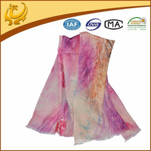 2015 new style wool custom printed scarf