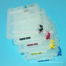 Para cartuchos de tinta recarregáveis Ricoh gx 7500 com chip de reinicialização automática para Ricoh GC 31