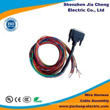Chicote de fios do fio de Molex do conjunto de cabo da fita de IDC