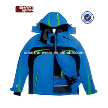 Chaqueta de bombardero de poliester personalizada al por mayor de China personalizada chaqueta de esquí hombres invierno chaqueta de esquí de nieve