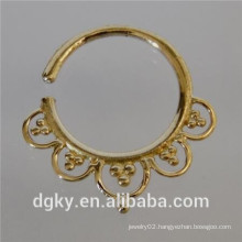 2014 Hot Selling Indian Nose Piercing Jewelry Fake Piercings Nose