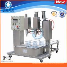 Anti-Explosion-halbautomatische Farbe / Beschichtungs-Füllmaschine mit Capping