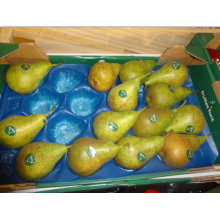 Vácuo de empacotamento dos produtos frescos que forma o forro plástico descartável da fruta do hexágono celular para a pera