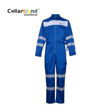 Anti Static Blue Mechanic Overall Cargo Pants