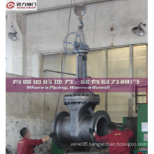 Manual Bevel Gear Electric Operated Flange Gate Valve