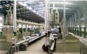 Chemical copper plating production line