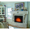 """28"""" flat panel infrared insert electric fireplace with curtain net"""