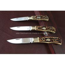 Cuchillo plegable de la manija del ABS (SE-S310)