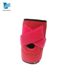 Водоустойчивая поддержка колена розового неопрена артрита регулируемая
