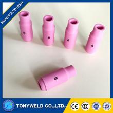 Tocha de soldador de tig com bico de cerâmica de tipo tipo 10N 4 5 6 7 bico de solda