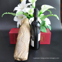 Honeycomb Kraft Paper Sheet Packaging Cushion Paper Sheet For Wrapping Glass Cosmetics Wine Material