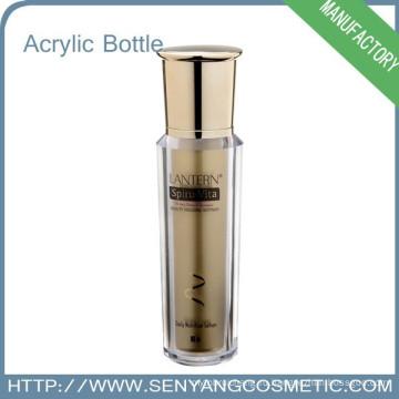Горячее тиснение Роскошная Красочная Упаковка Оптовая акриловая косметическая бутылка