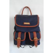 Mochila de viagem de saco de escola de designer de moda em sua própria marca (A-009)