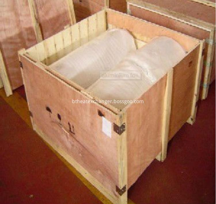 Aluminum strip package