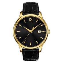 Mens Ss Watch or jaune placed