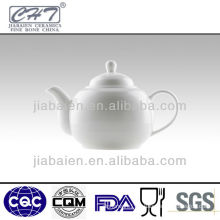 white fine bone china antique ceramic teapots
