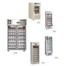 Biobase certificado CE 4 céntricos 120L-1000L refrigerador de banco de sangre