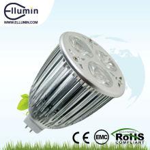 6w mr16 led alta luz led spot