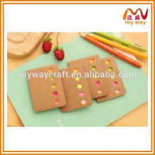 Artigos de papelaria baratos da China School, de melhor qualidade, de notas adesivas autoadhesivas