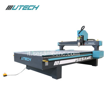 Router CNC a 3 assi per incisioni in alluminio