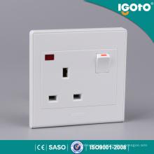 Interruptores de pared inalámbricos inalámbricos estándar Igoto británicos