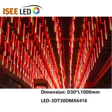 DMX512 3D LED Tube لإضاءة النادي