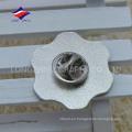 Fashional insignia única de plata de esmalte, hecho en China