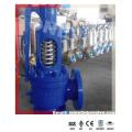 "Válvula de segurança de mola manual de alavanca aberta para caldeira a vapor (8 ""-300LB)"