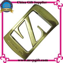 Metal fivela de cinto com logotipo do cliente
