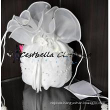 Mode schicke weiße Mini Hochzeit Handtaschen Mini Braut Handtaschen
