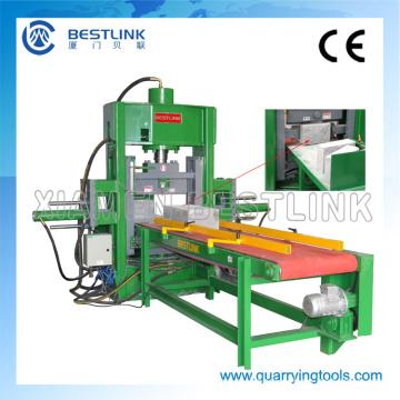 Máquina de corte natural hidráulica da pedra da cara de Bestlink para o bloco do granito