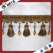 Curtain Beaded Tassel Fringe for Home Decor