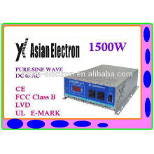 DC to AC inverter 1500W 110VAC high frequency