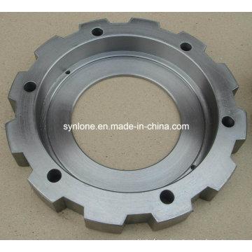 Reborde forjado de acero modificado para requisitos particulares con trabajar a máquina del CNC