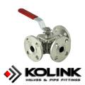 Válvula de bola montada en muñón, API 6D, certificada PED / Ce