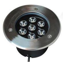 Hochwertige IP68 7W LED Bodenleuchte